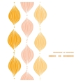 Abstract golden ogee vertical frame seamless vector