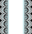 Background with stripes of lace vector