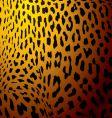 Leopard skin gold vector