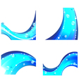 Abstract water elements vector