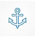 Anchor symbol or logo vector