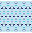 Abstract blue seamless pattern eps10 vector