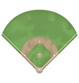 Baseball ground vector