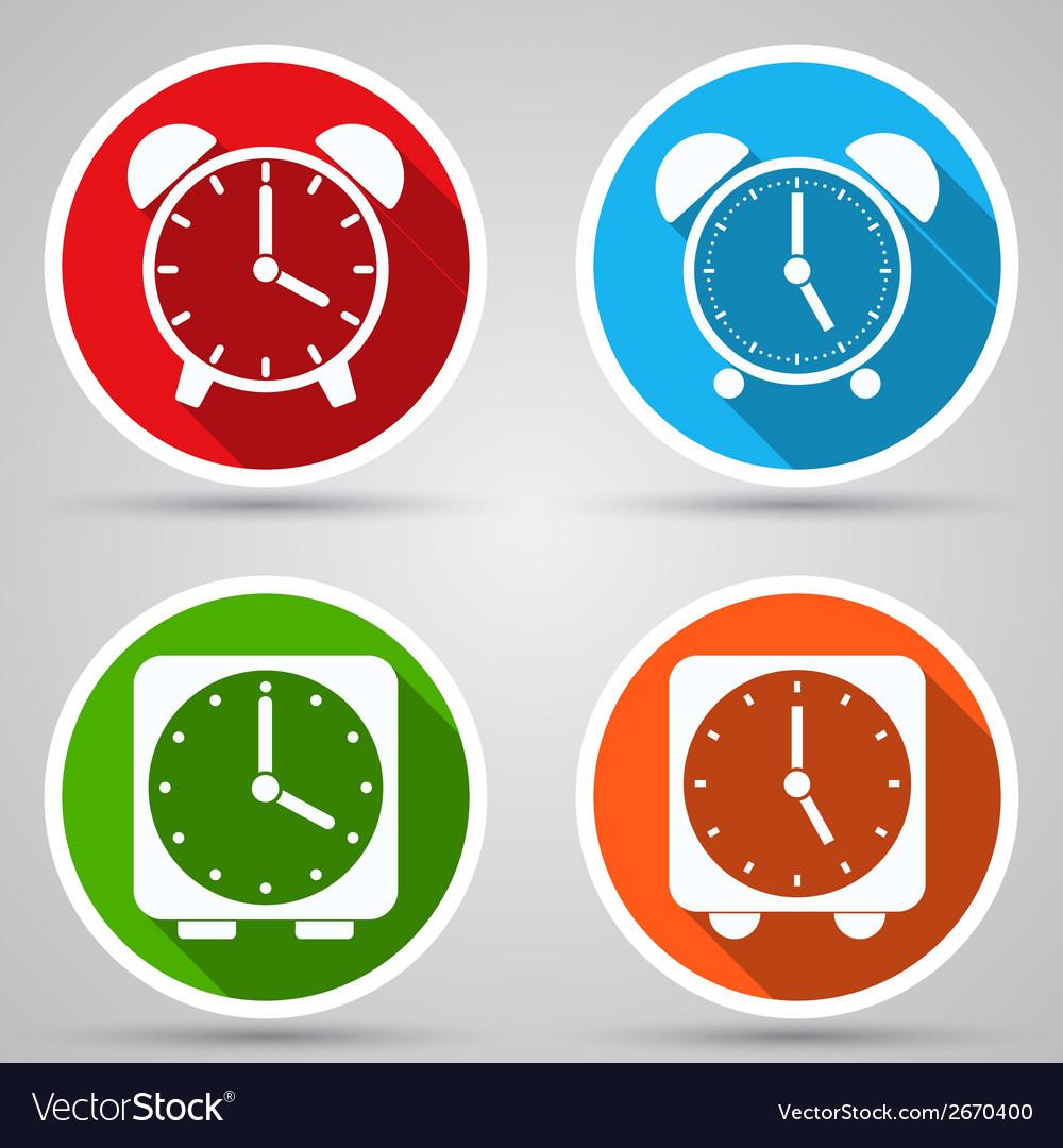 Alarm clocks collection vector | Price: 1 Credit (USD $1)