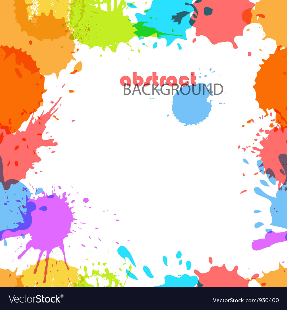 Color ink blots vector | Price: 1 Credit (USD $1)