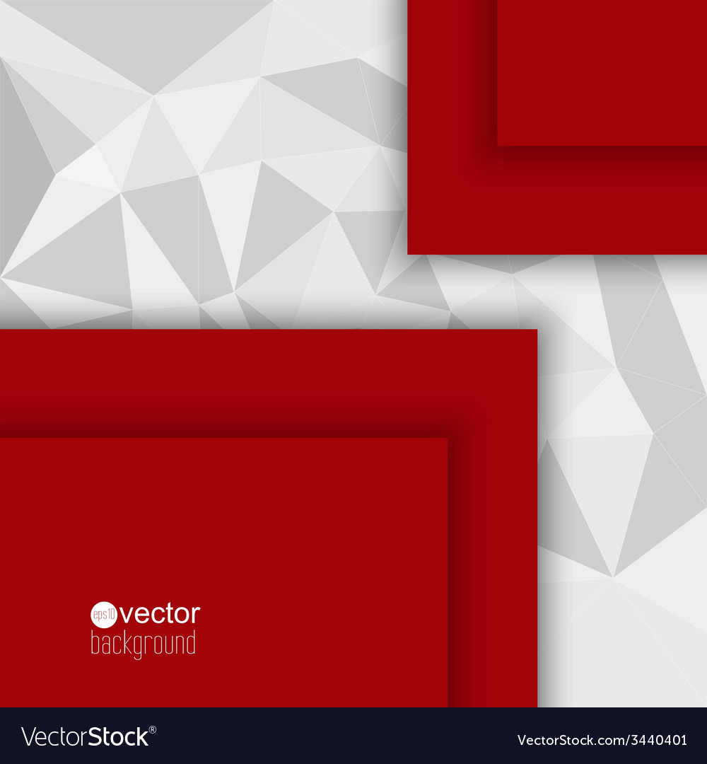 Abstract background with triangles and polygonal vector | Price: 1 Credit (USD $1)
