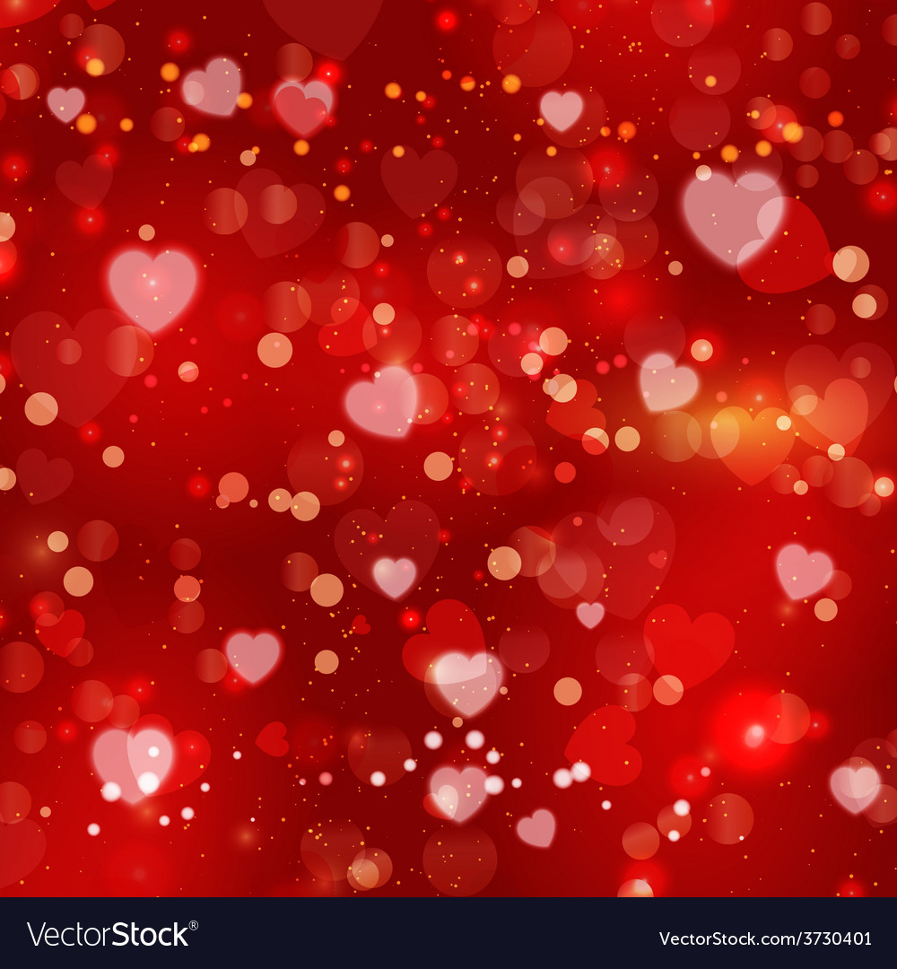 Red valentines day background vector | Price: 1 Credit (USD $1)