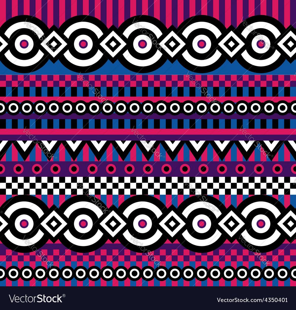 Vivid pop art pattern vector | Price: 1 Credit (USD $1)
