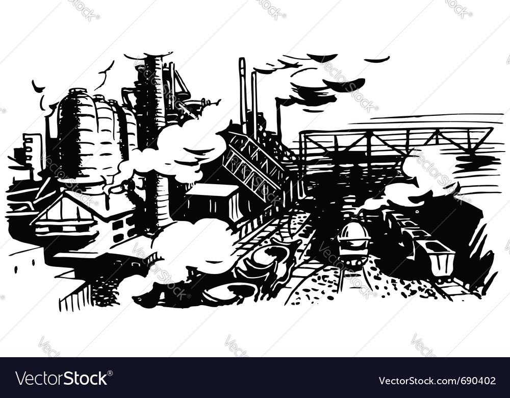 Industrial vector | Price: 1 Credit (USD $1)