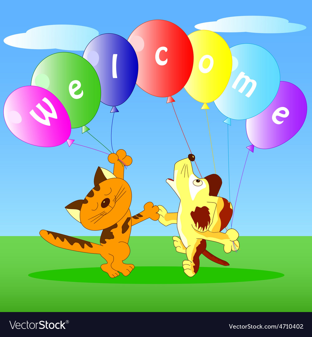 Welcome vector   Price: 1 Credit (USD $1)