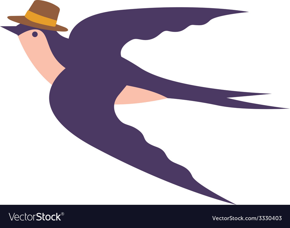 Cute swallow vector | Price: 1 Credit (USD $1)