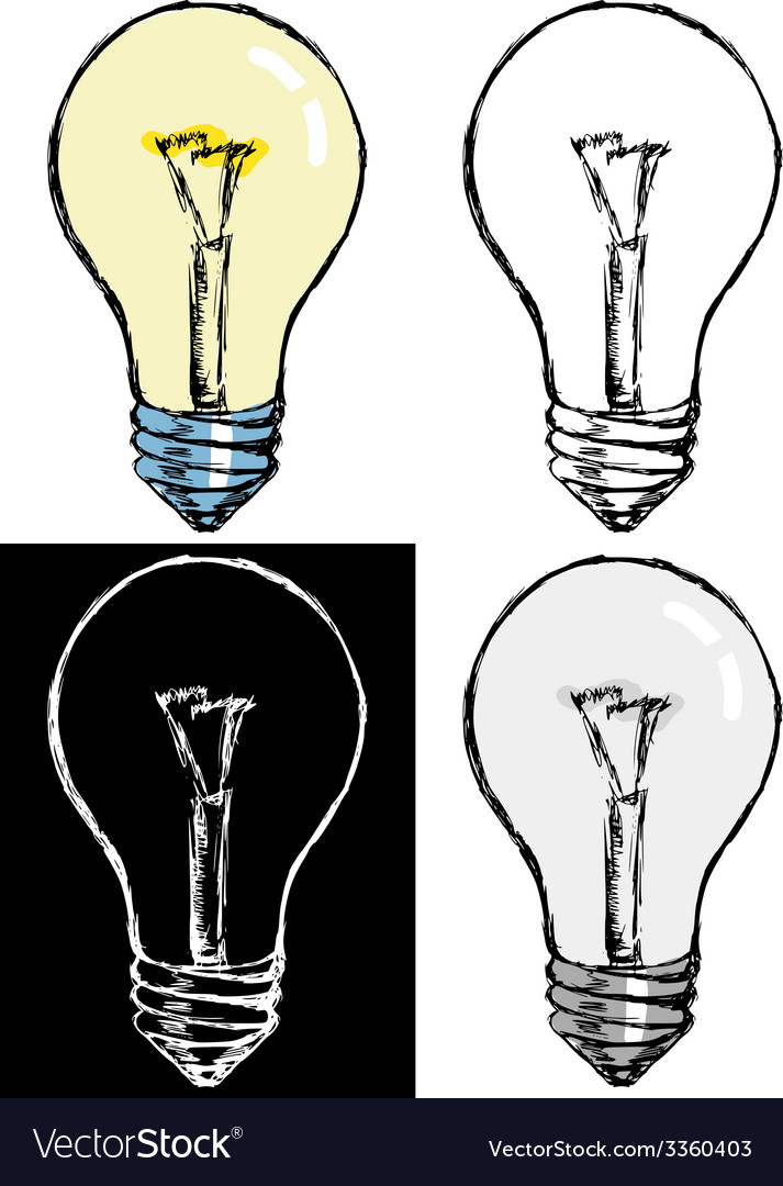 Incandescent lamp vector | Price: 1 Credit (USD $1)