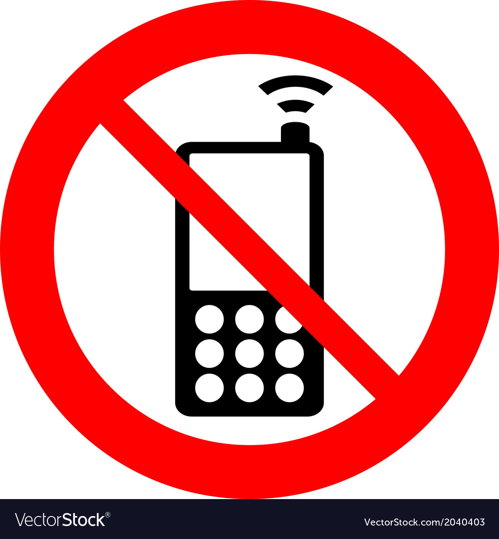 No phone vector | Price: 1 Credit (USD $1)