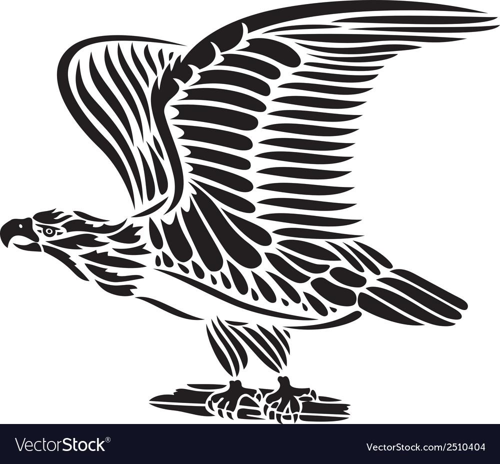 Eagle bird vector | Price: 1 Credit (USD $1)