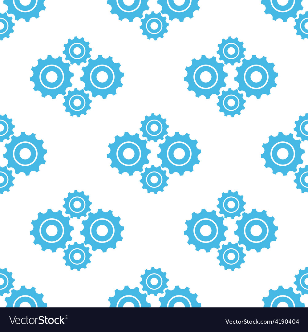 Mechanism seamless pattern vector | Price: 1 Credit (USD $1)