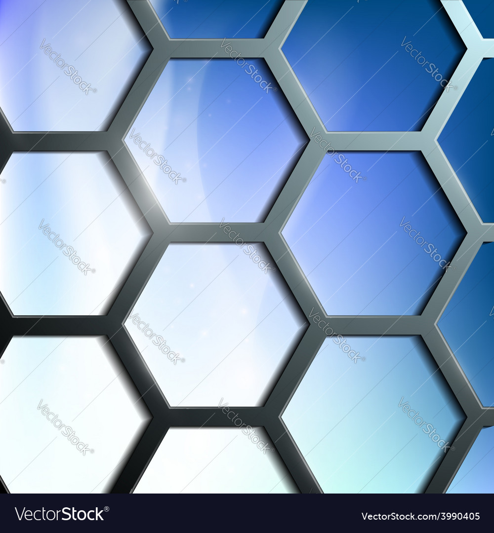 Abstract background of the cells vector | Price: 1 Credit (USD $1)