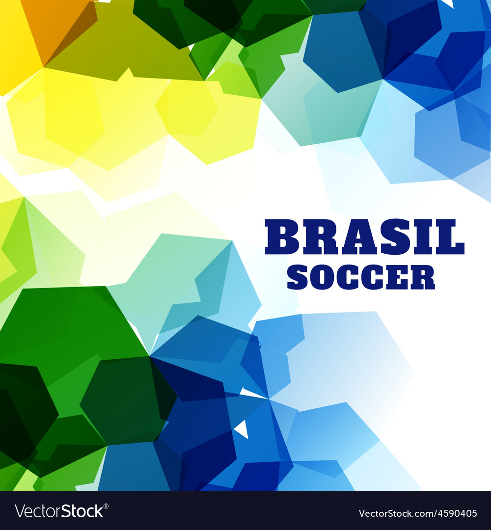 Abstract soccer game vector | Price: 1 Credit (USD $1)