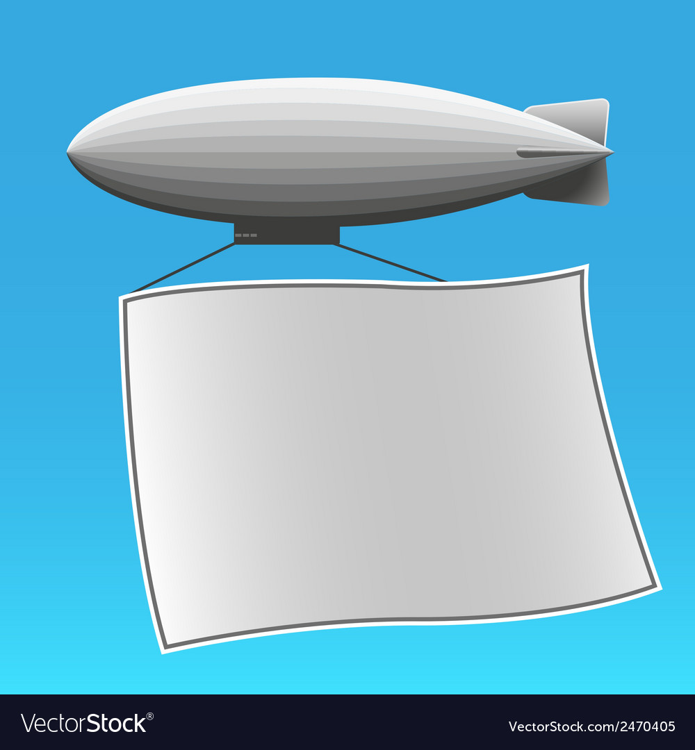 Airship 2 vector | Price: 1 Credit (USD $1)