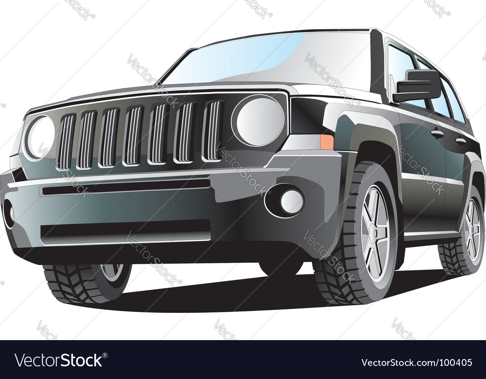 Jeep vector | Price: 1 Credit (USD $1)