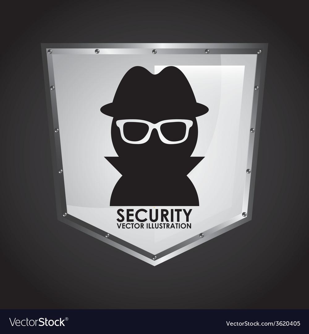Security shield vector | Price: 1 Credit (USD $1)