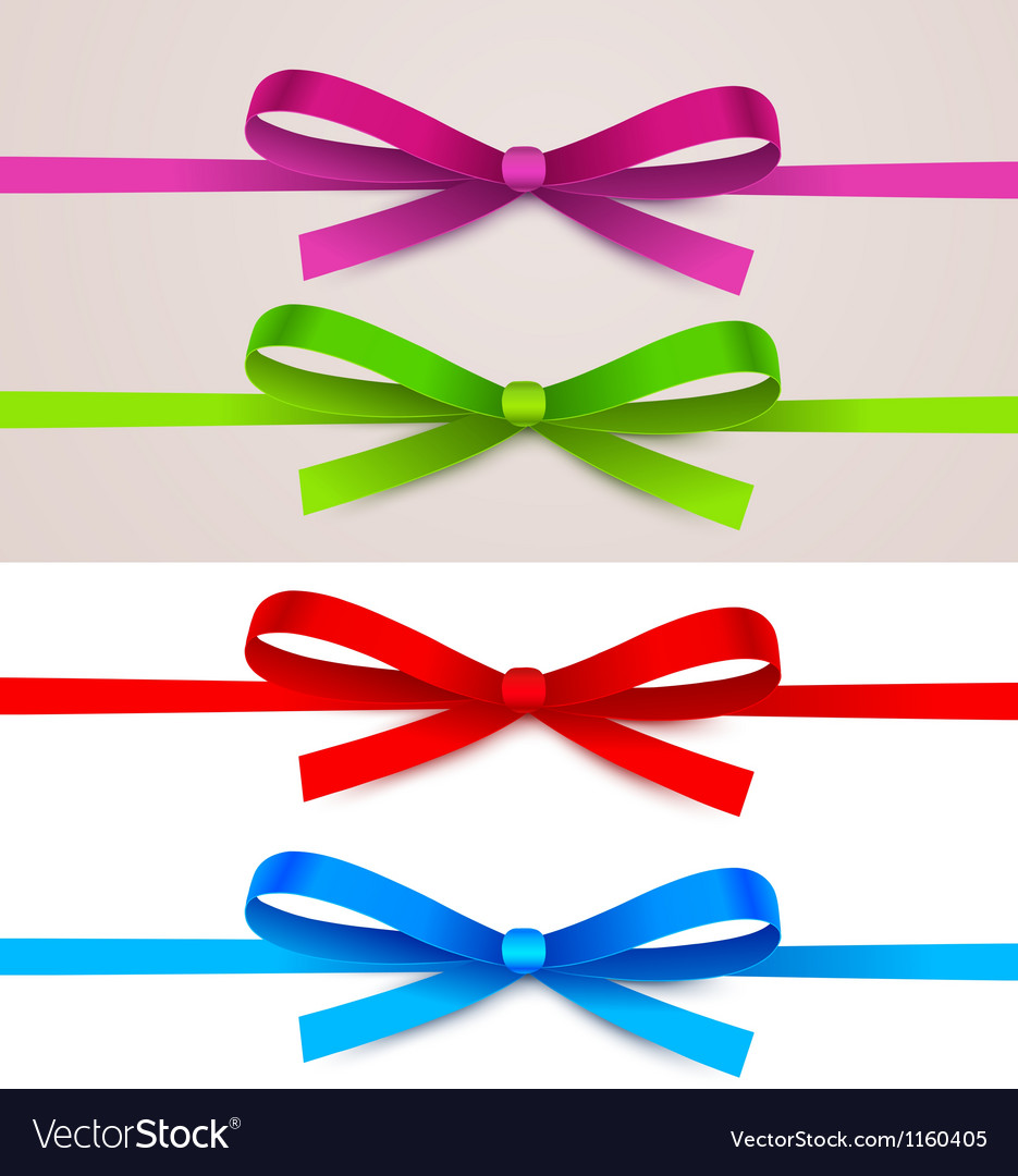 Set of bow vector | Price: 1 Credit (USD $1)