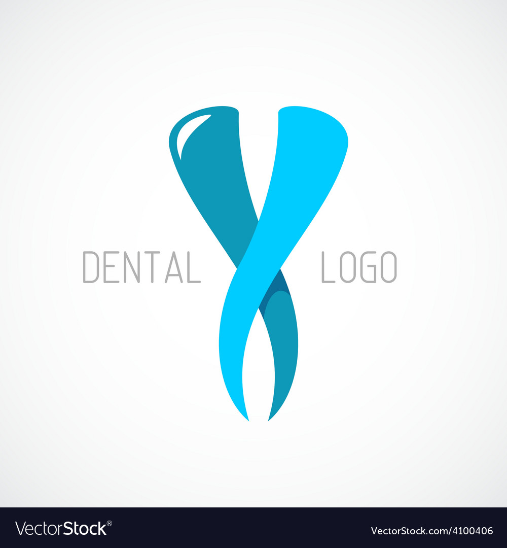 Dental logo template stomatology sign vector | Price: 1 Credit (USD $1)