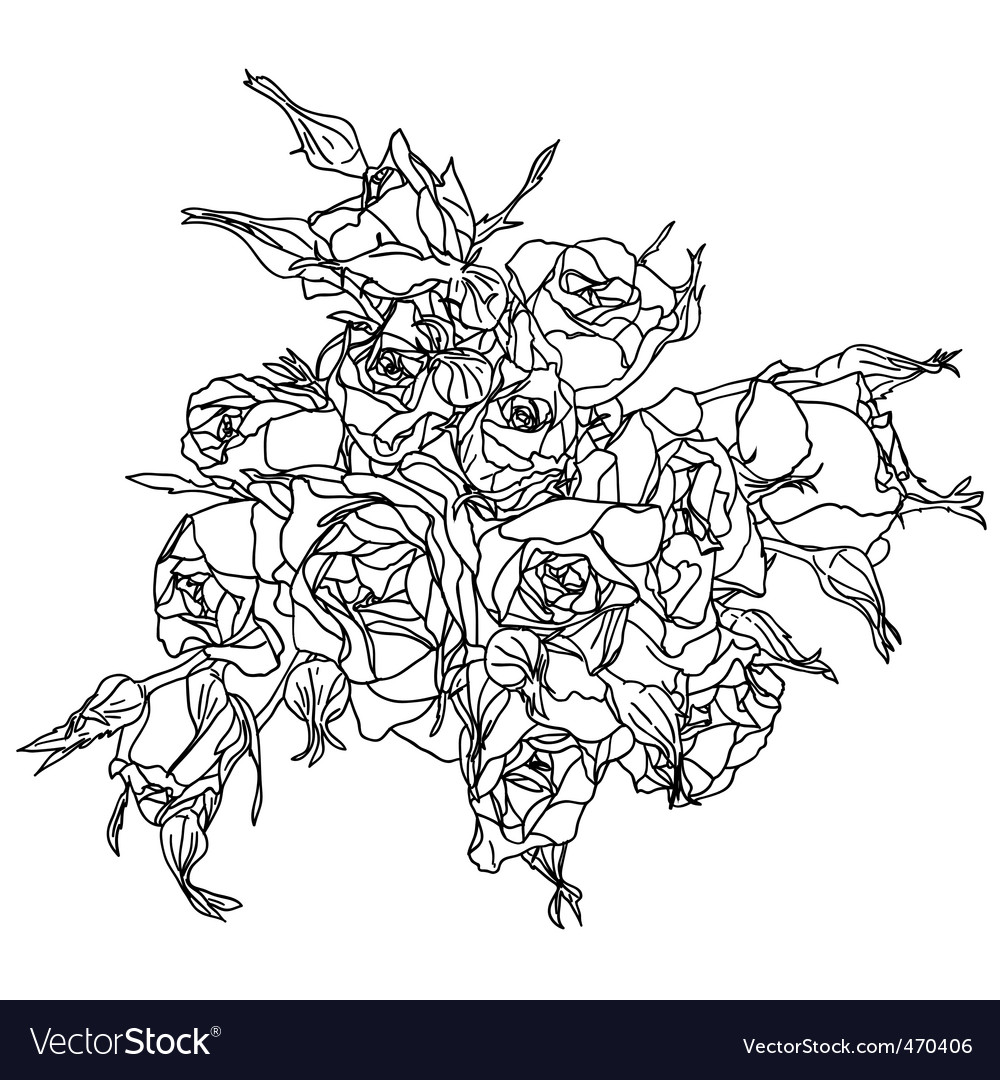 Hand drawn floral vector   Price: 1 Credit (USD $1)