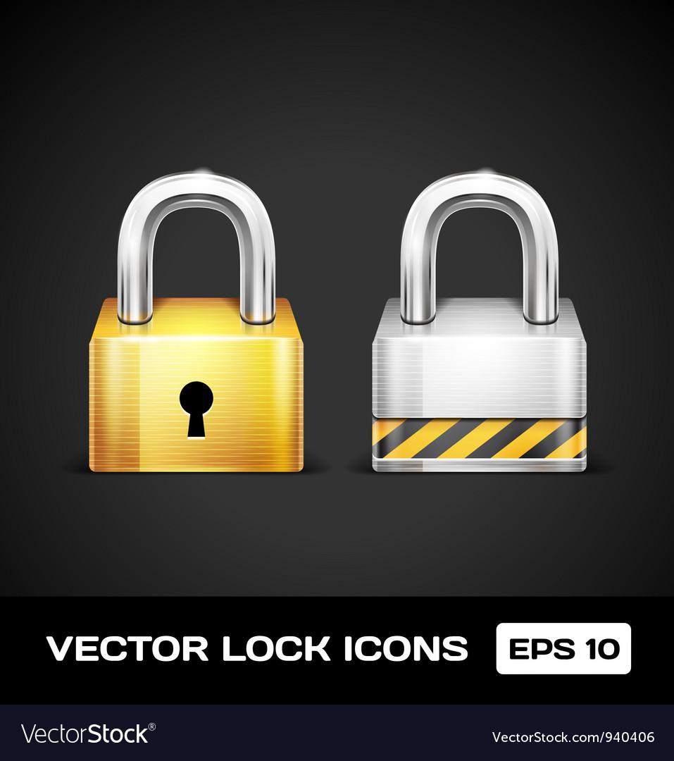 Lock icons vector   Price: 3 Credit (USD $3)
