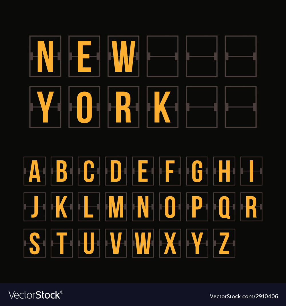Outline scoreboard letters and symbols flat vector   Price: 1 Credit (USD $1)