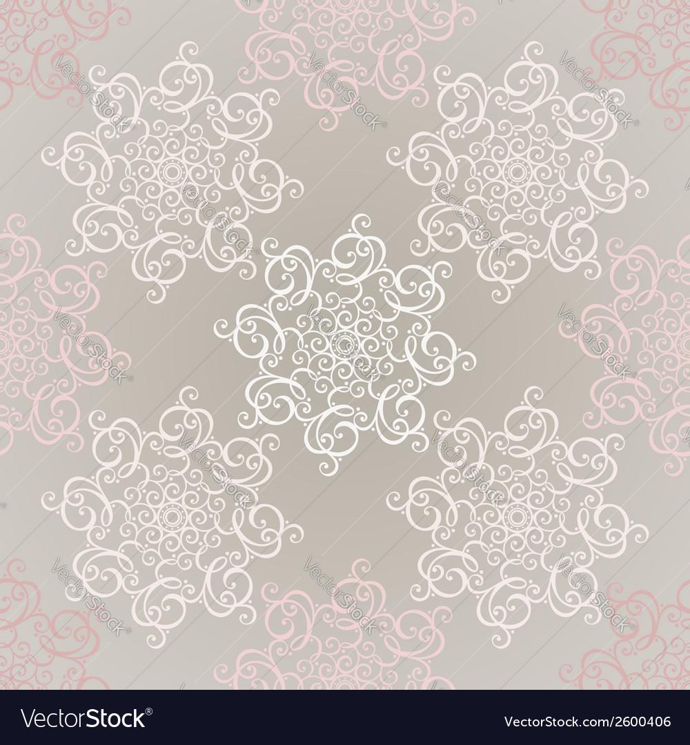Seamless ornate pattern vector | Price: 1 Credit (USD $1)