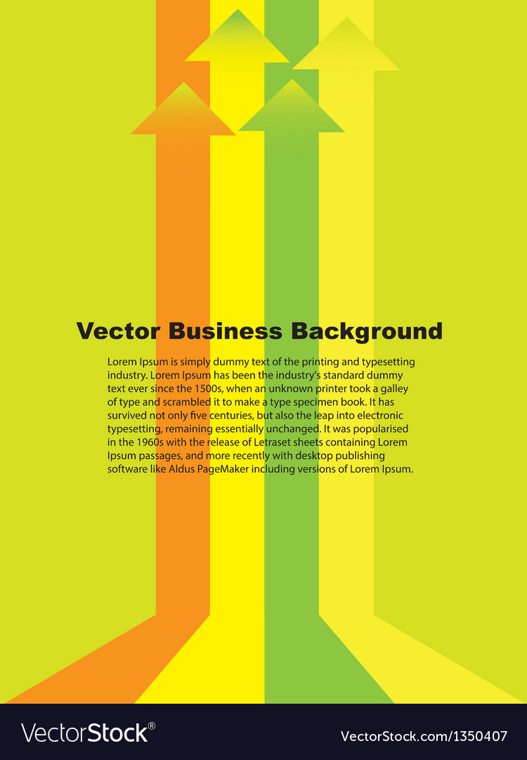 Business growth background vector | Price: 1 Credit (USD $1)