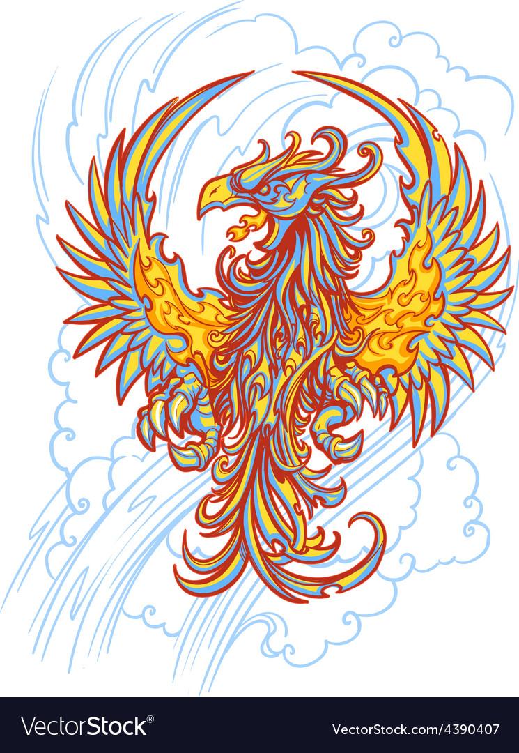 Phoenix vector | Price: 1 Credit (USD $1)