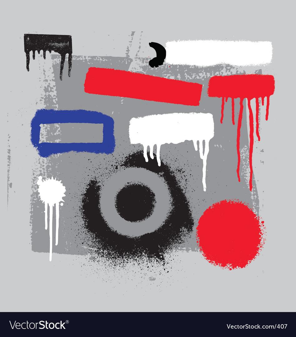 Stencil tools vector | Price: 1 Credit (USD $1)