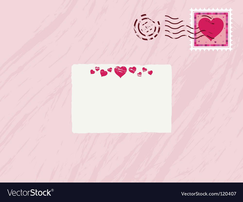 Valentine envelope vector | Price: 1 Credit (USD $1)