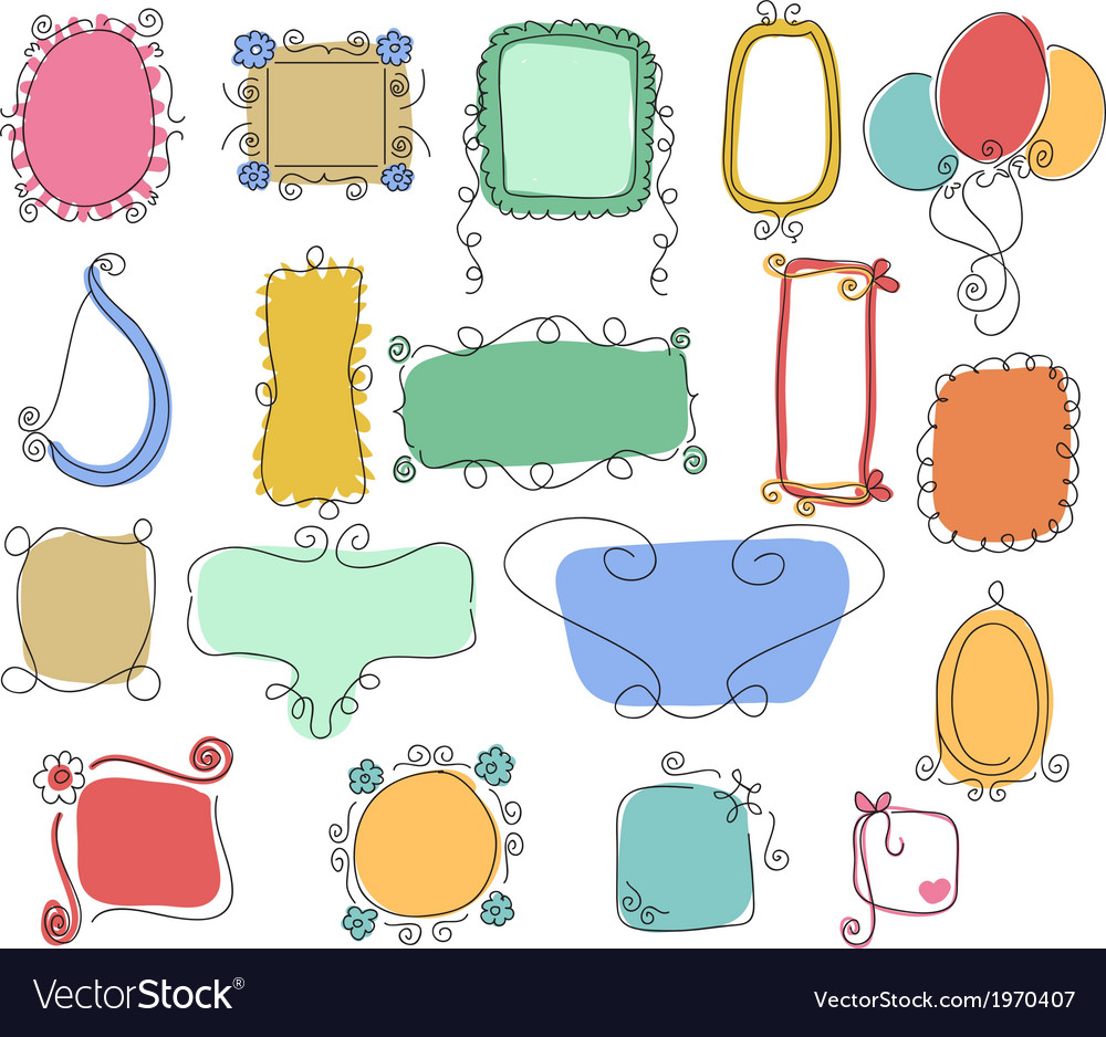 Victorian ornaments hand drawn vector | Price: 1 Credit (USD $1)
