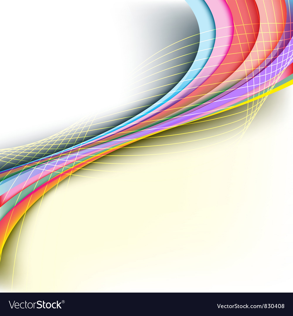 Abstract rainbow arrow banner vector | Price: 1 Credit (USD $1)