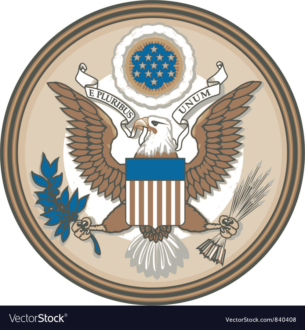 Great seal of usa vector | Price: 3 Credit (USD $3)