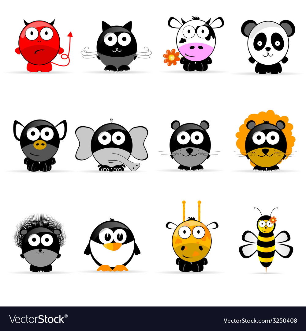Sweet and cute animal vector   Price: 1 Credit (USD $1)