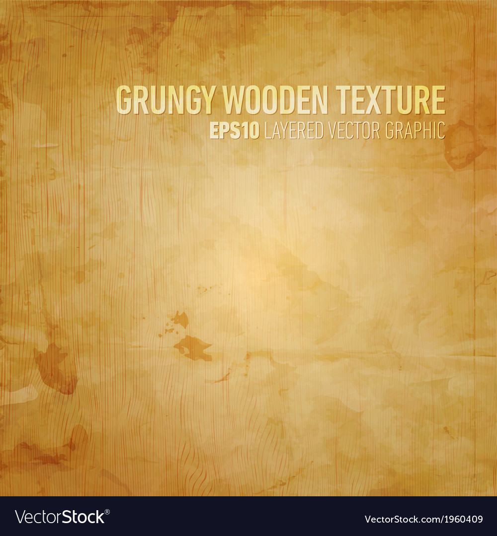 Grungy wooden texture vector | Price: 1 Credit (USD $1)