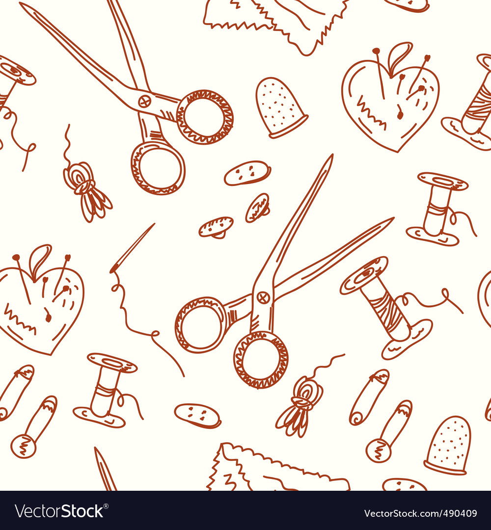 Sewing pattern vector | Price: 1 Credit (USD $1)