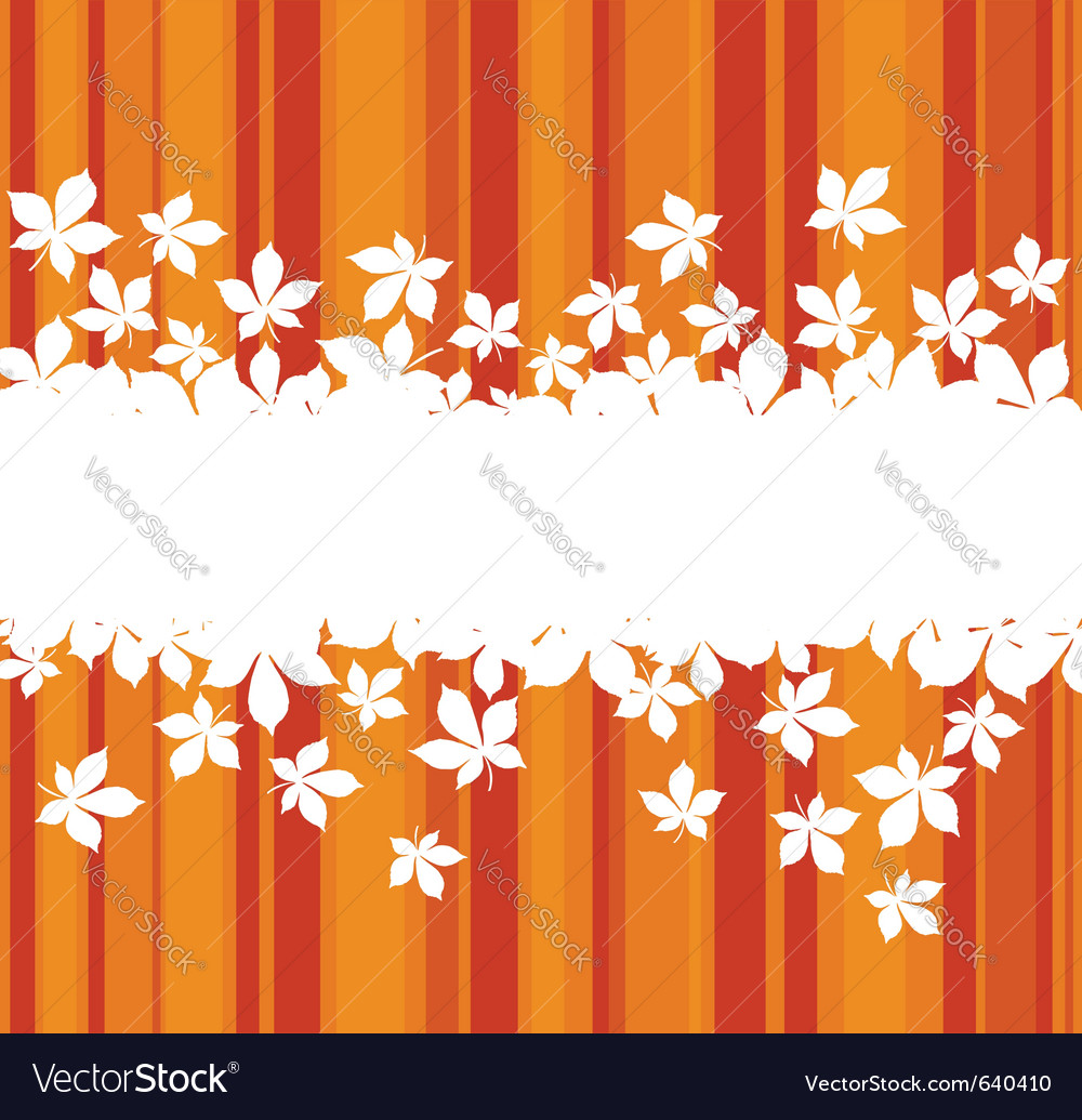 Autumnal leaves vector   Price: 1 Credit (USD $1)