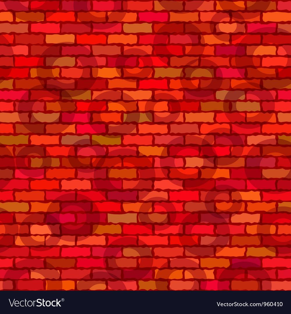 Brick wall seamless vector | Price: 1 Credit (USD $1)