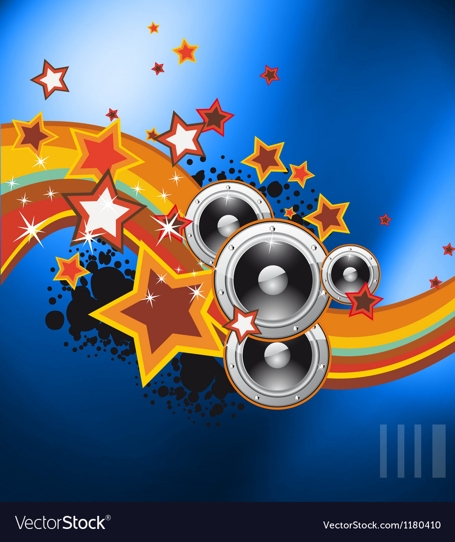 Club party flyer for music event vector | Price: 1 Credit (USD $1)