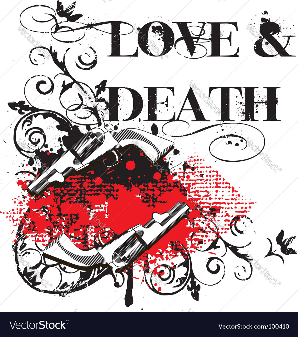 Love and death vector | Price: 1 Credit (USD $1)