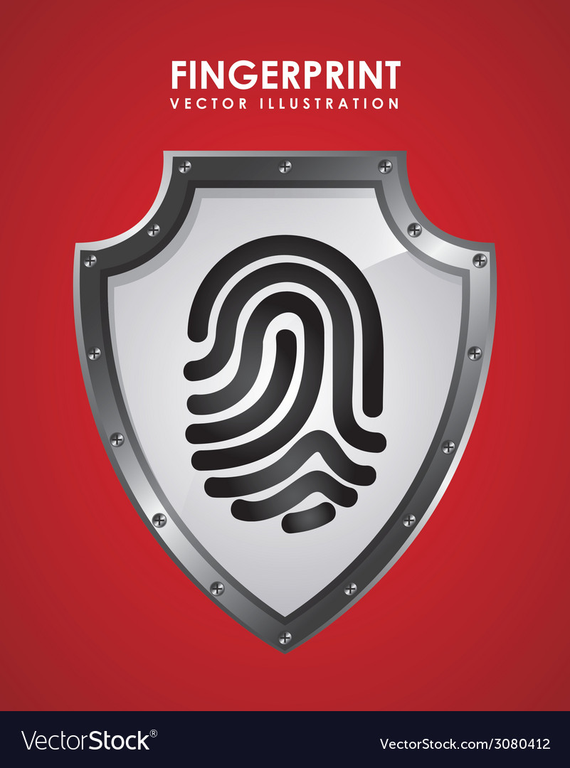 Fingerprint design vector | Price: 1 Credit (USD $1)