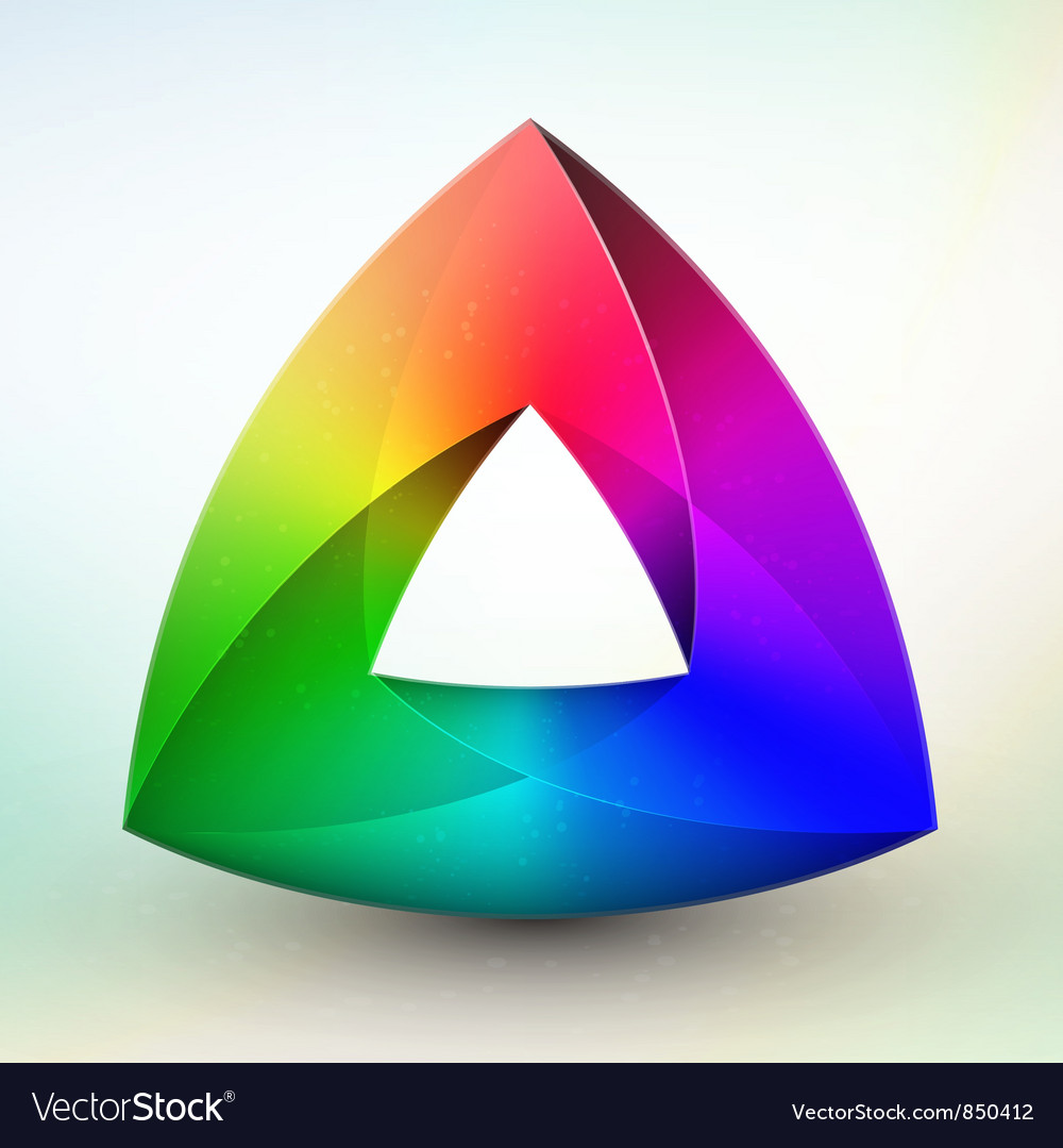 Gem color wheel vector | Price: 1 Credit (USD $1)