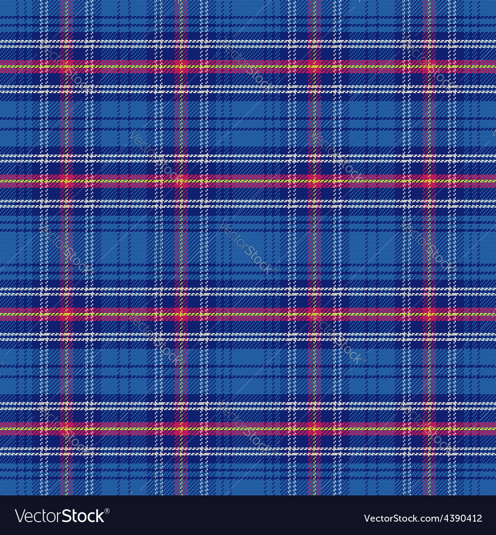 Seamless pattern scottish tartan army vector | Price: 1 Credit (USD $1)