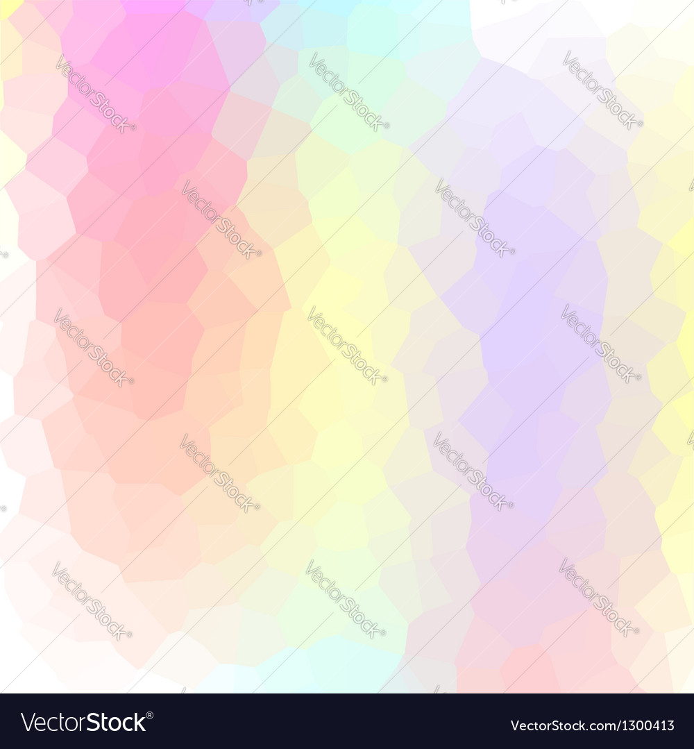 Abstract vibrant mosaic made of colorful elements vector | Price: 1 Credit (USD $1)