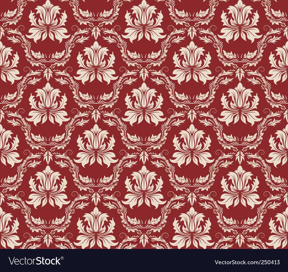 Damask pattern vector | Price: 1 Credit (USD $1)