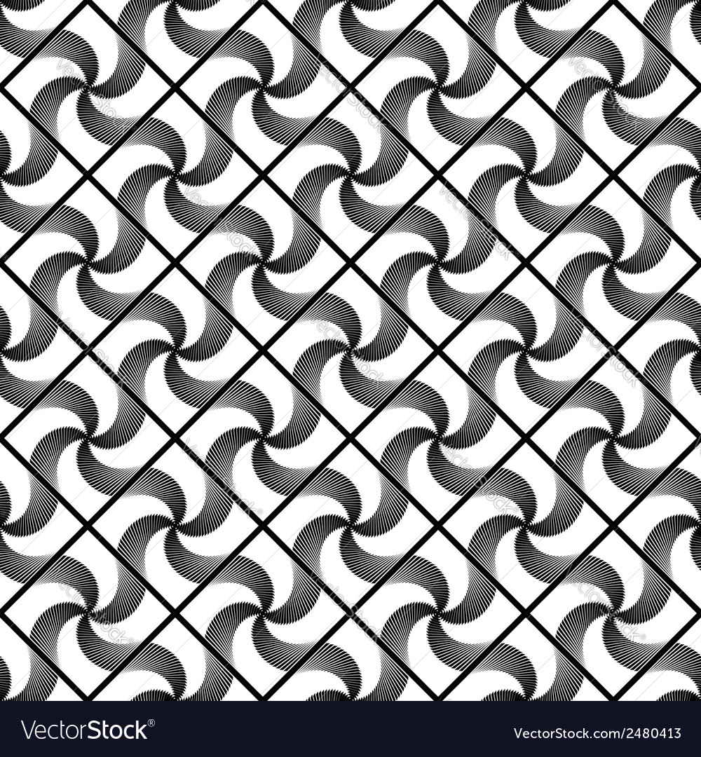 Design seamless decorative geometric pattern vector | Price: 1 Credit (USD $1)